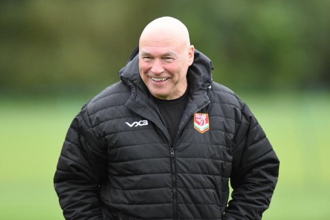 John Kear is in Sydney with Wales for the World Cup nines