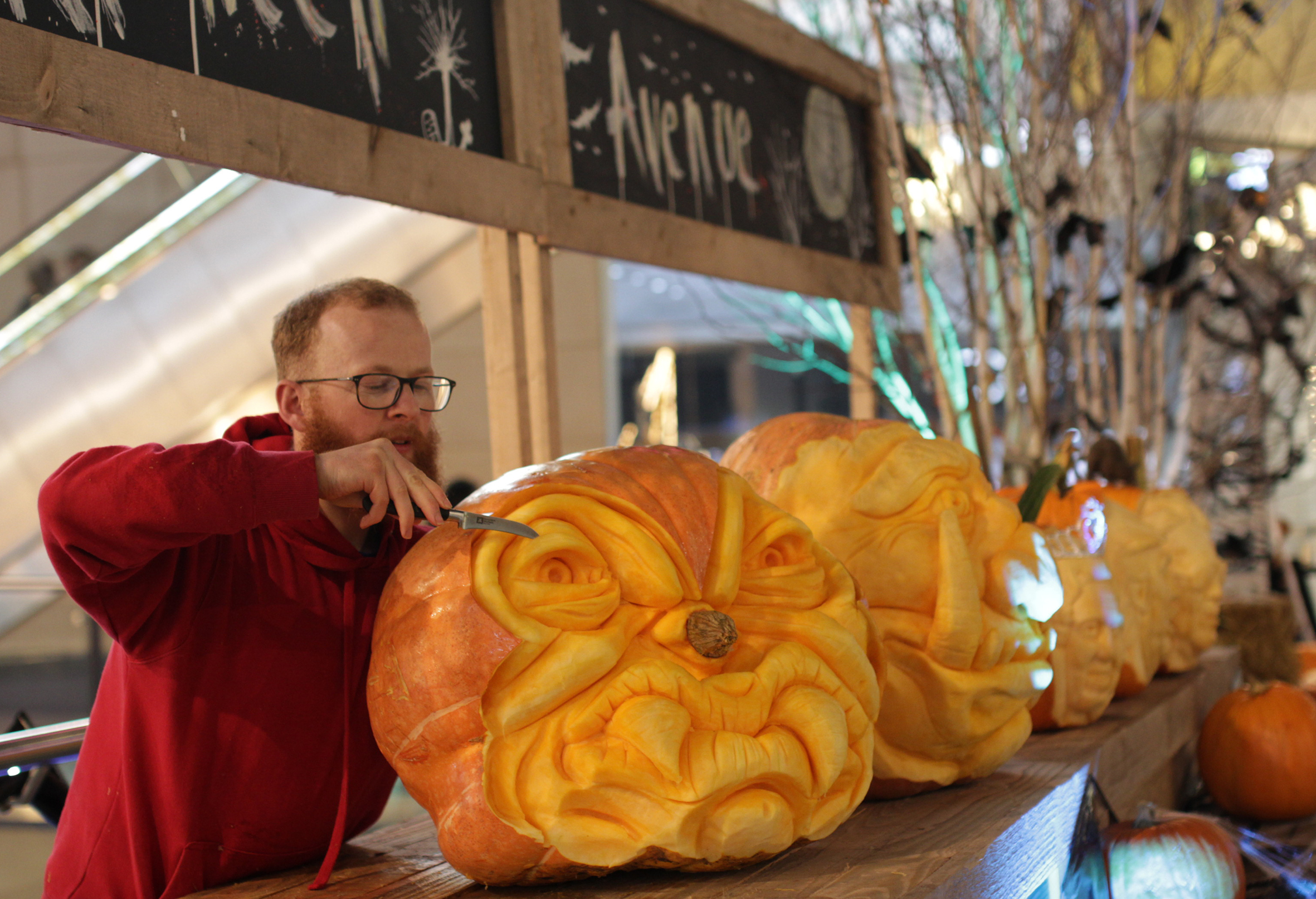 Pumpkin carving fun planned for Bradford city centre to mark Halloween