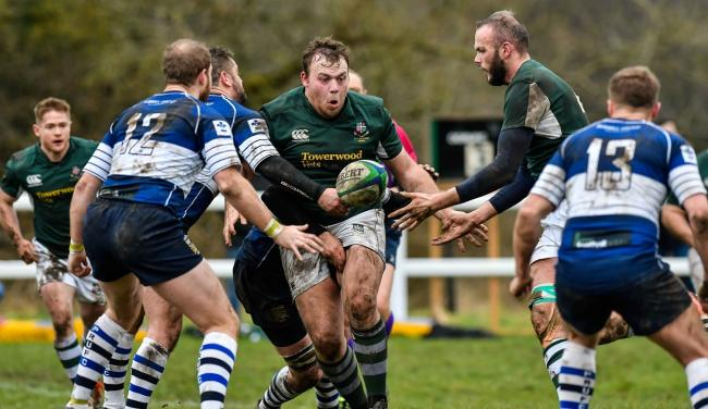 Joe Garforth, centre, could return for Old Grovians tomorrow