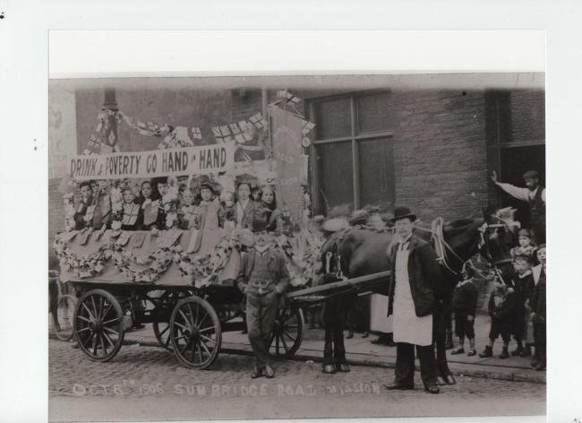 Bradford's Band of Hope, taken in October 1906. Picture: Sunbridge Road Mission