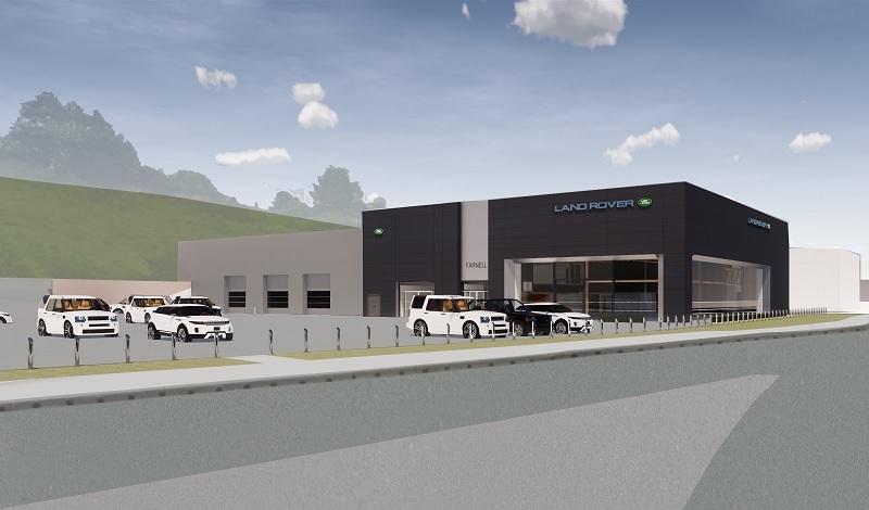 £2.4m refurbishment of Bradford Land Rover dealership begins