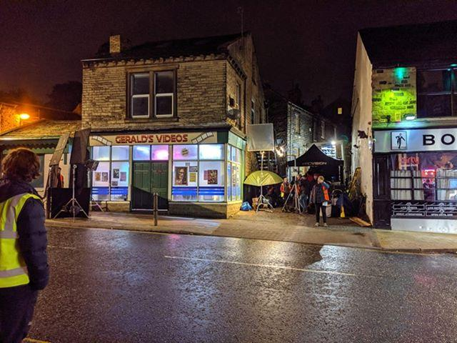 Lowtown, Pudsey, where a set has been created for new horror film Censor