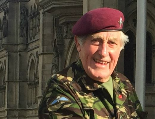 Jeffrey Long MBE to take on latest challenge - this time for Child Bereavement UK