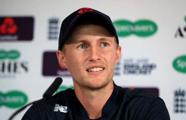 England captain Joe Root finished the day unbeaten on 66 Picture: Mike Egerton/PA Wire
