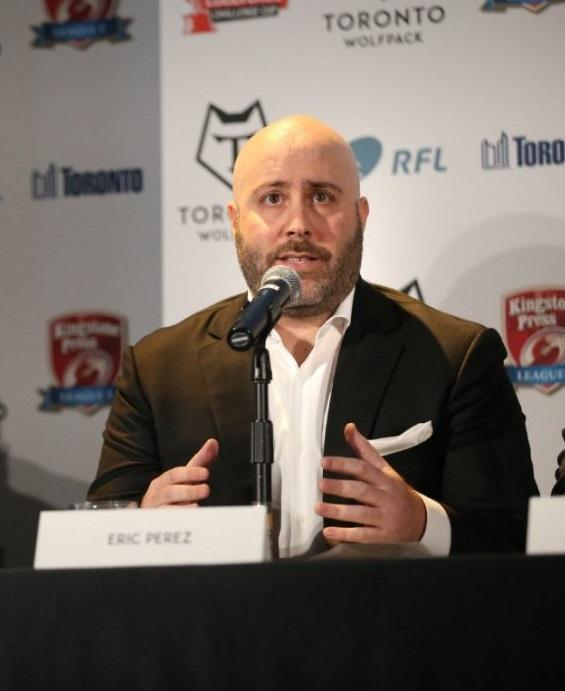 Eric Perez is excited about 2020 and says Bulls are still the biggest team outside of Super League