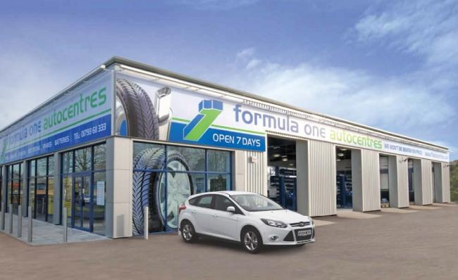 An artist's impression of the Formula One Autocentre in Shipley