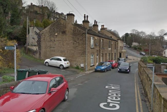 Green Road in Baildon - image from Google Street View