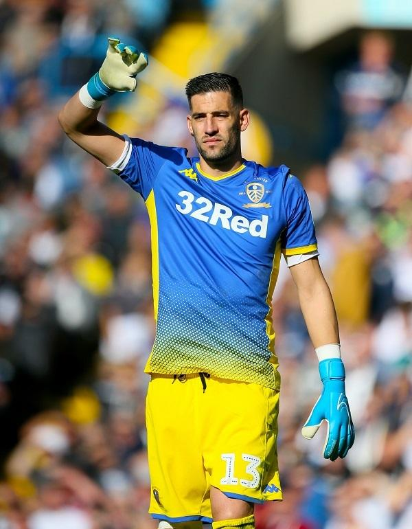 Leeds United goalkeeper Kiko Casilla has been charged over the use of abusive words towards a Charlton player, Jonathan Leko, during a match on September 28 Picture: Richard Sellers/PA Wire