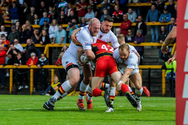 Bradford Bulls will play Dewsbury Rams in a pre-season friendly in January. Picture: Tom Pearson