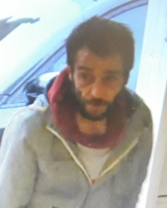 Police would like help identifying this man in relation to a theft from a shop.