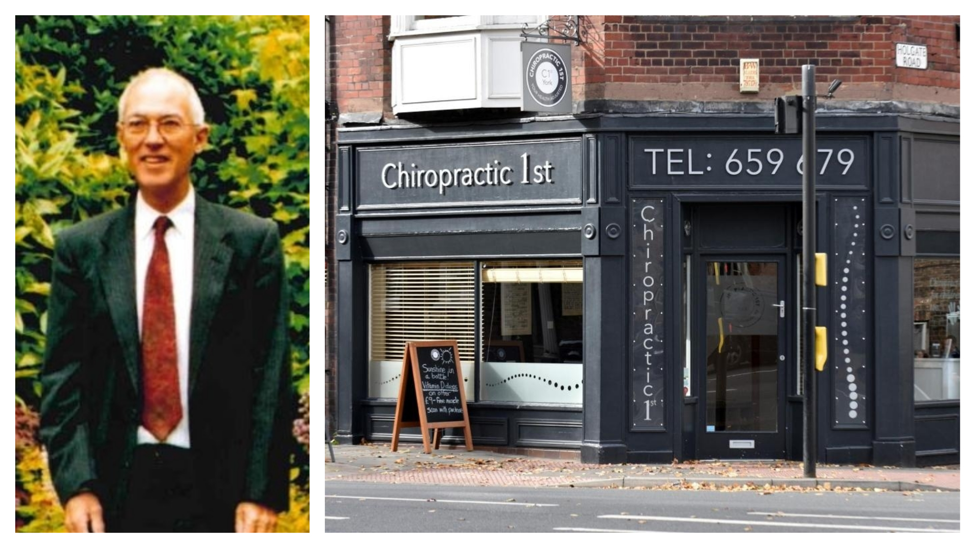 John Lawler, 80, suffered broken neck during treatment by chiropractor, inquest hears