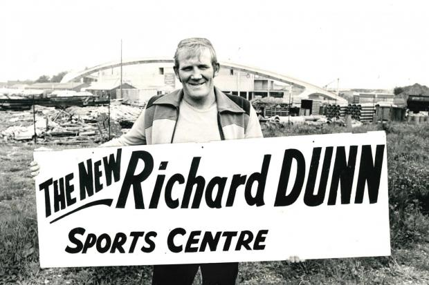 RICHARD DUNN SPORTS CENTRE 1976