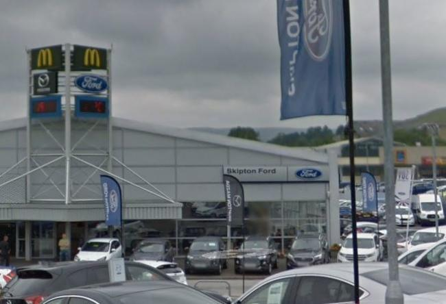 Skipton Ford has announced it is closing and moving to Keighley. Picture Google Maps