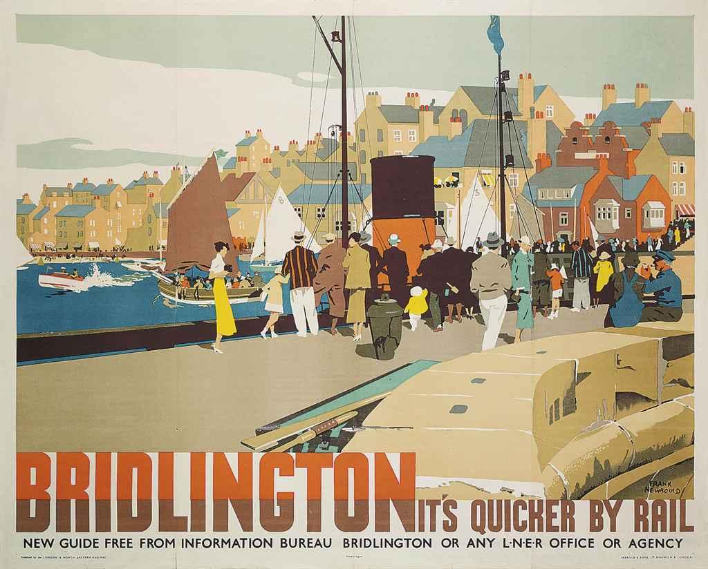 Bradford graphic designer's bracing seaside posters