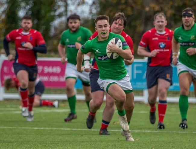 Wharfedale's Oscar Canny makes a break against Chester on Saturday. Picture: Ro Burridge