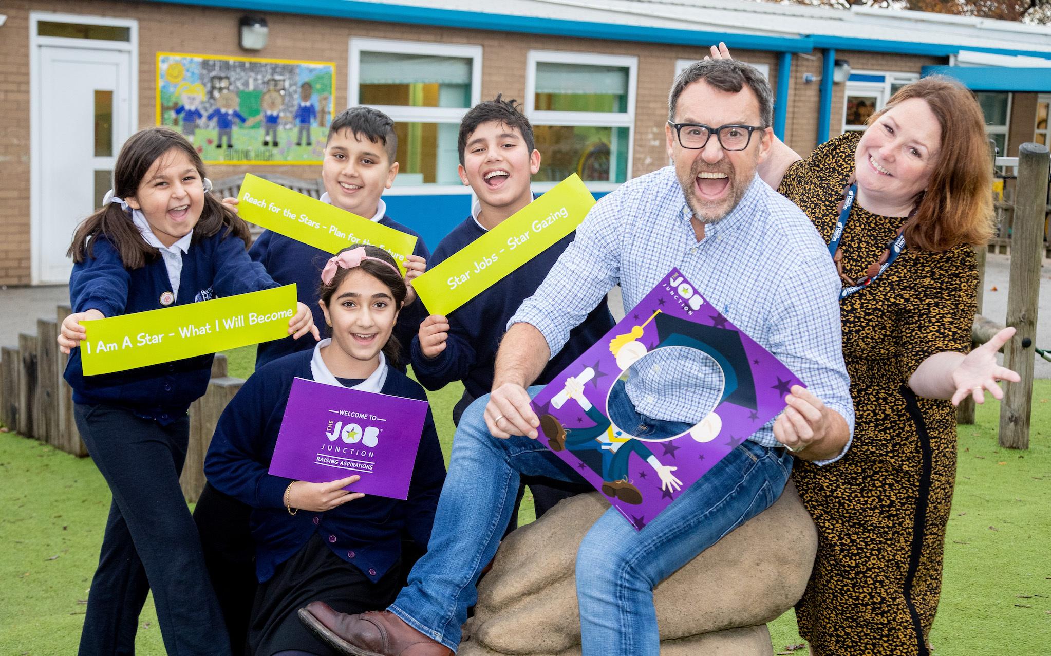 Bradford pupils to get Positive Footprints aspiration training