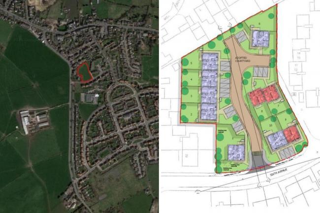 Johnnie Johnson Housing Association wants to build ten retirement bungalows in Liversedge