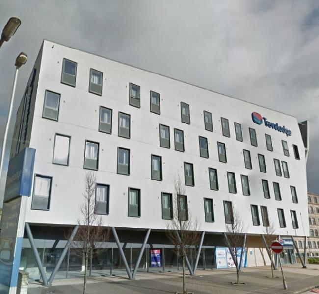 The Travelodge building on Valley Road - image from Google Street View