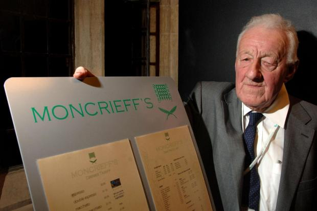 Chris Moncrieff has died aged 88.