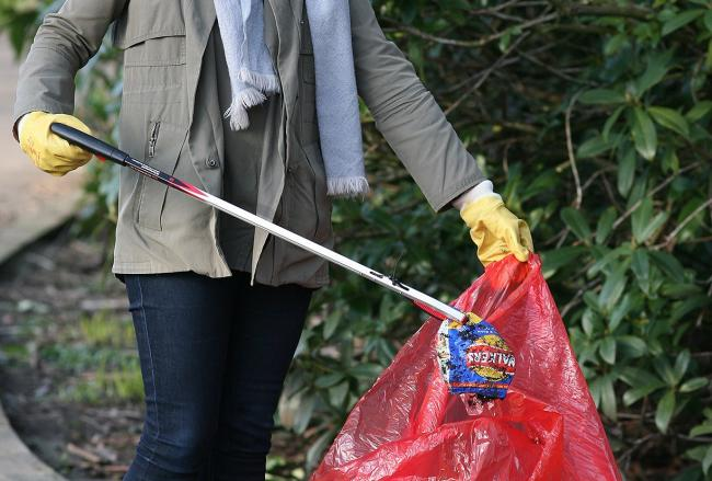 A litter pick campaign has been launched