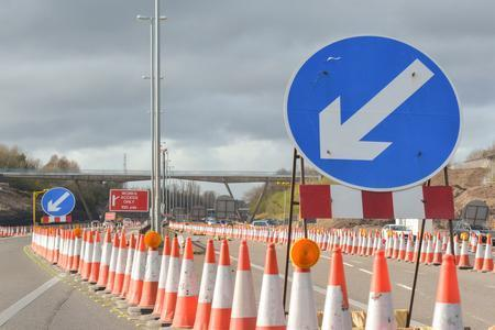 Closures on M62 for roadworks