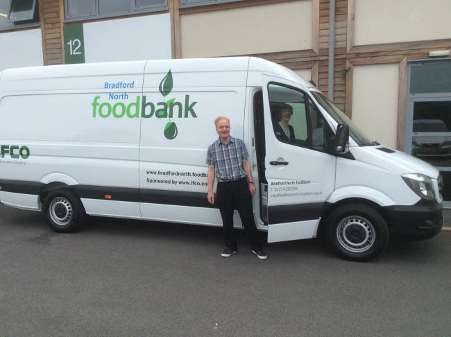 People are being encouraged to donate foodbank items in the run up to the festive period