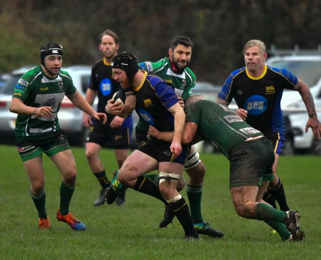 Bradford Salem in action against Beverley earlier this season Picture: Chris Hyslop
