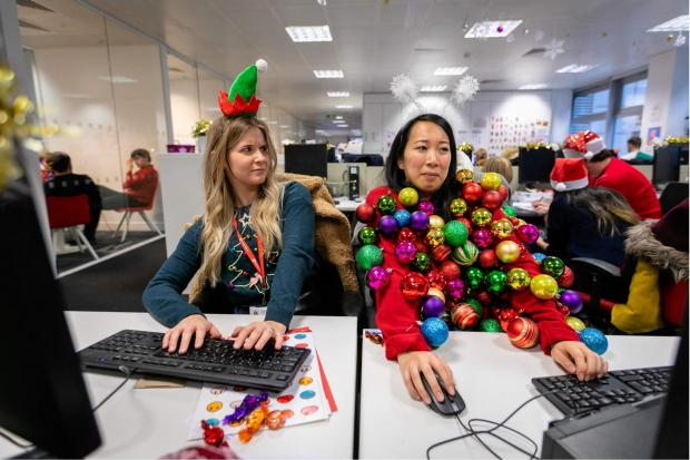 Bradford Telegraph and Argus: You could create your own seasonal sweater for Christmas Jumper Day. Pic credit: Save the Children