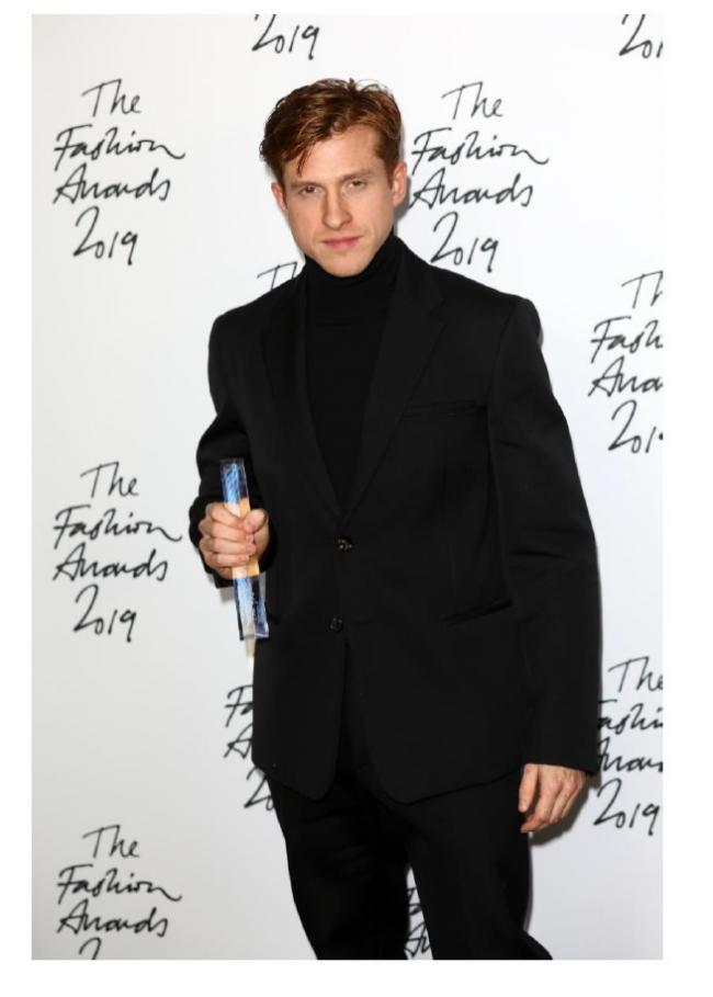 Daniel Lee pictured at The Fashion Awards 2019