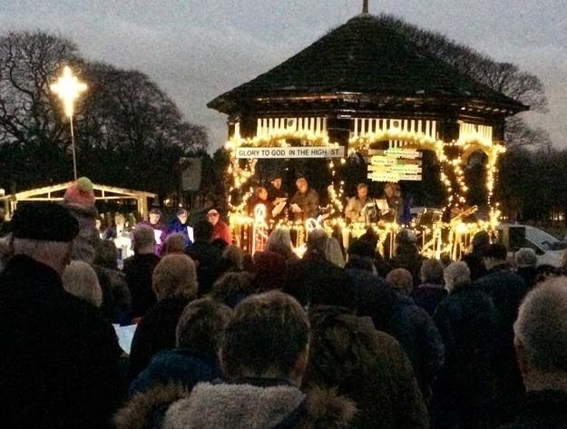 Carols in the Park will be held in Horsforth..