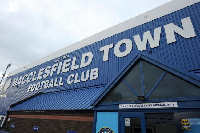 Macclesfield Town could still yet be relegated from League Two, long after the season ended Picture: Clint Hughes/PA Wire