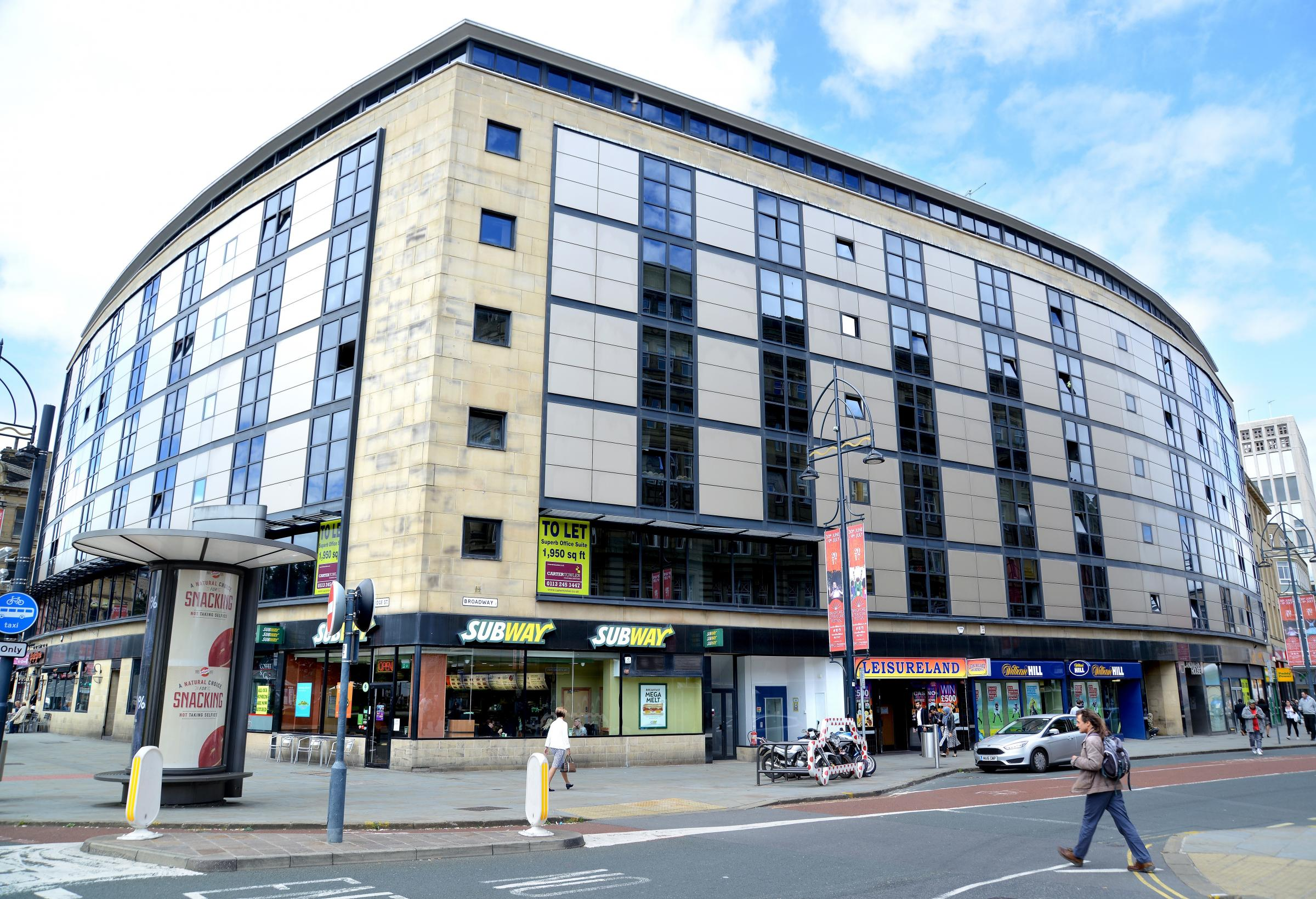 Cladding warning issued for two Bradford high-rise buildings