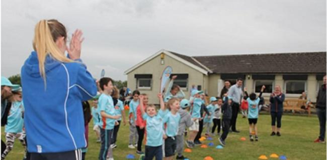 Low Moor take part in the ECB's initiative, All Stars Cricket, which promotes more young people playing cricket