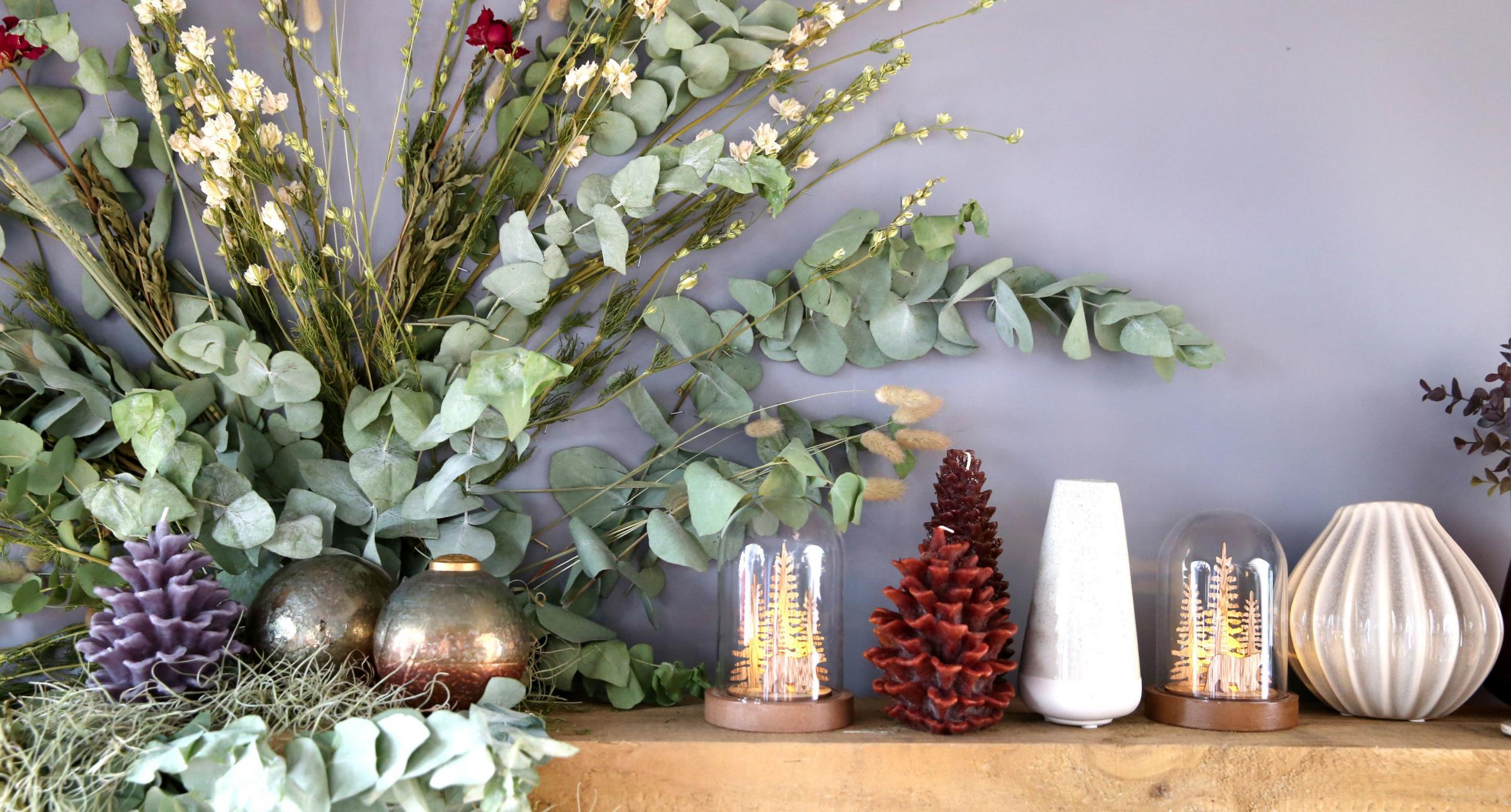 GARDENING: Make your mantelpiece magnificent this Christmas