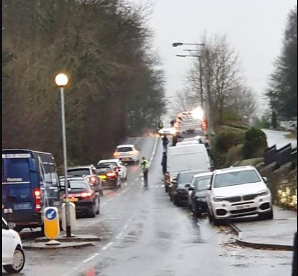 Driver Arrested After Crash Outside Cottingley Primary