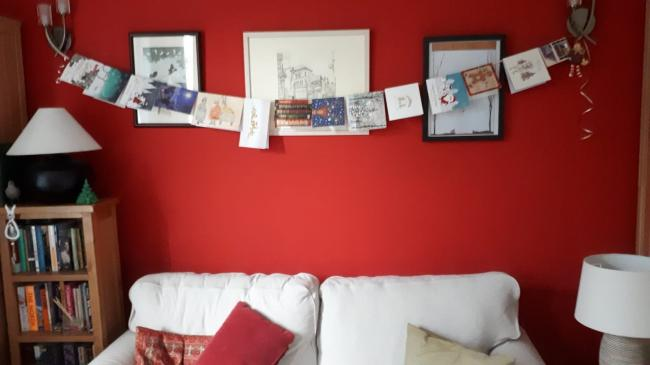 Christmas cards are welcomed by many, and brighten up the home over the festive season