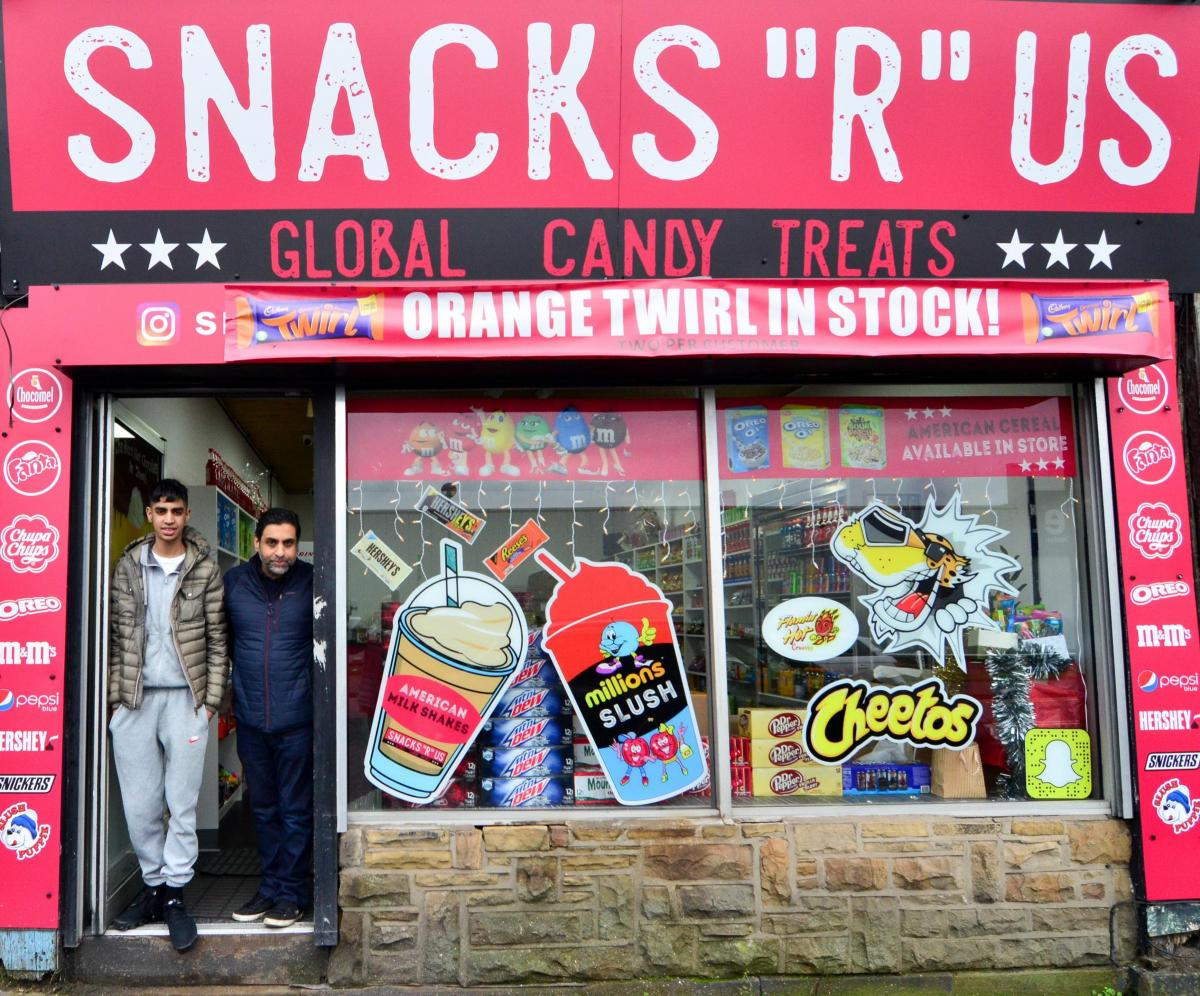 Bradford Teenager Opens His Own Sweet Shop In Girlington Bradford Telegraph And Argus