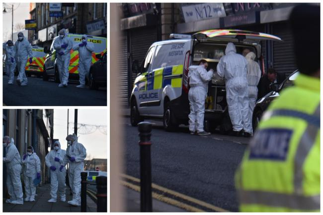 Some pictures from the scene yesterday.