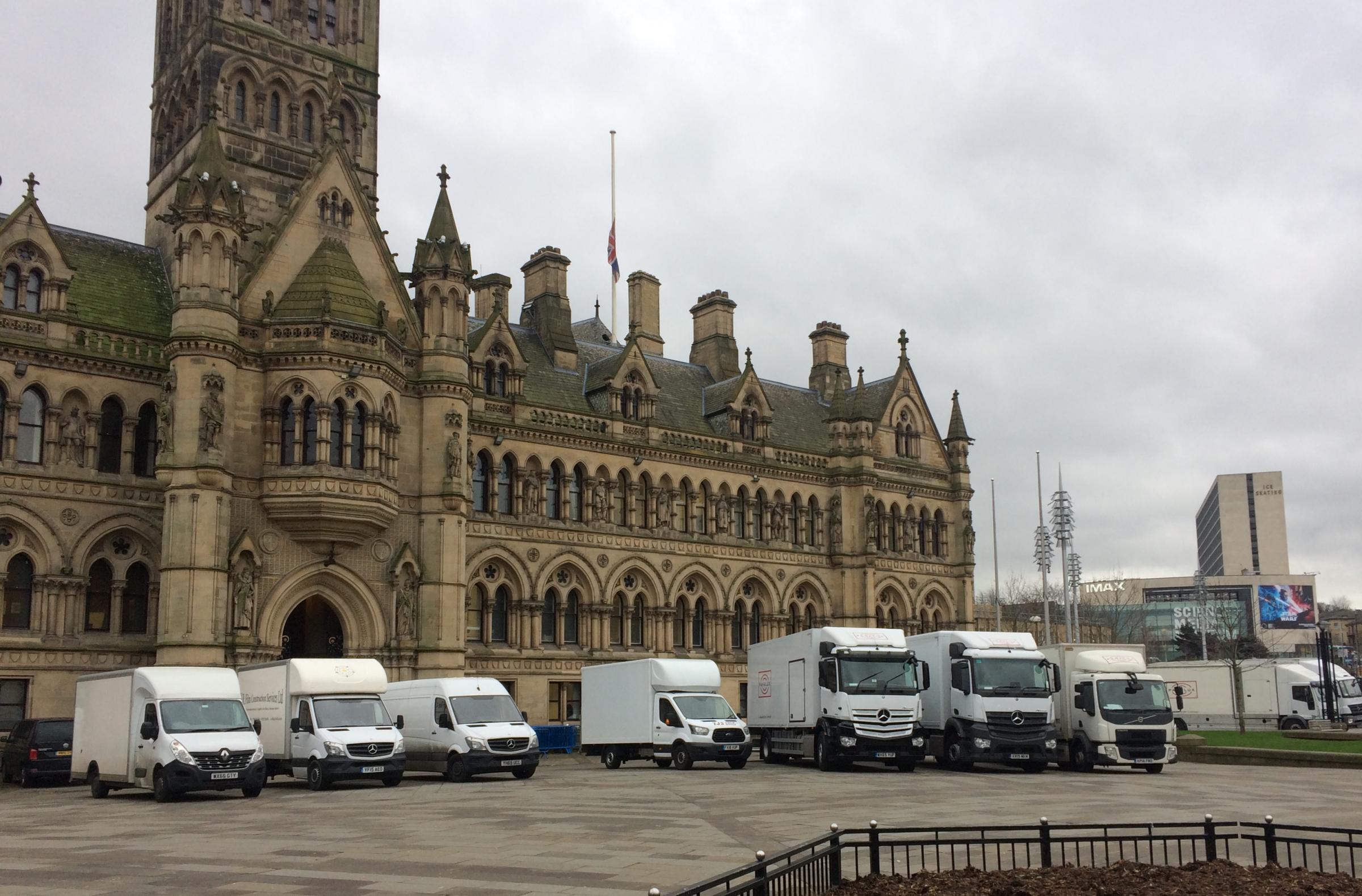 Filming starts in Bradford on Helen Mirren movie The Duke