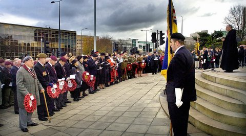 Remembrance services across the Bradford district this weekend