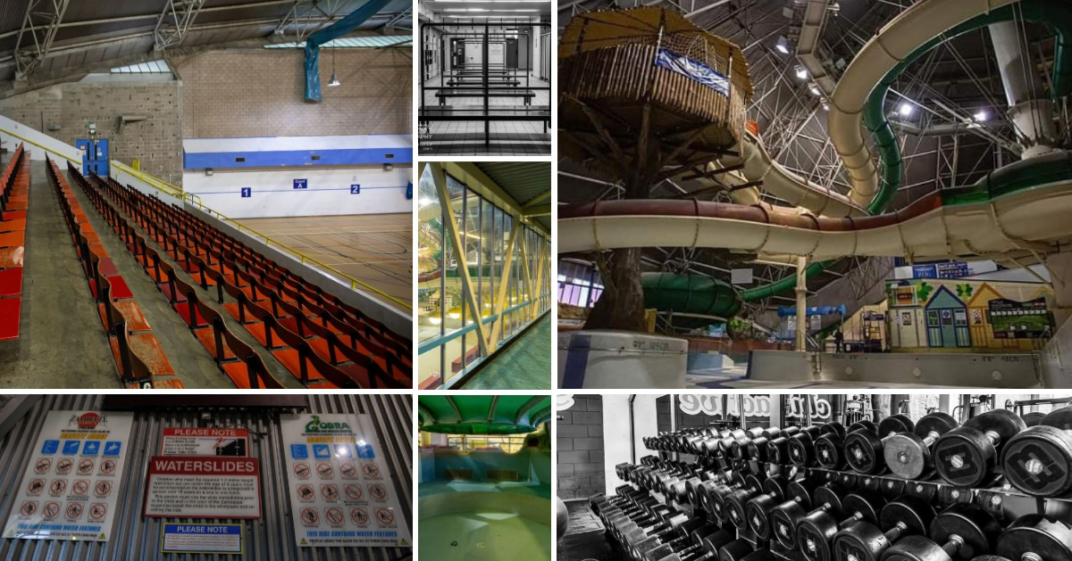 GALLERY: Photographers capture the empty Richard Dunn Sports Centre as it awaits demolition