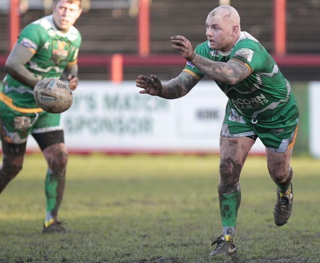 Kyle Kesik (right) will be the captain of Keighley Cougars for 2020 Picture: Charlie Perry