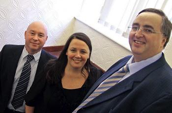Altrigen directors Paul Frear, Mel Place and Mark Fullerton