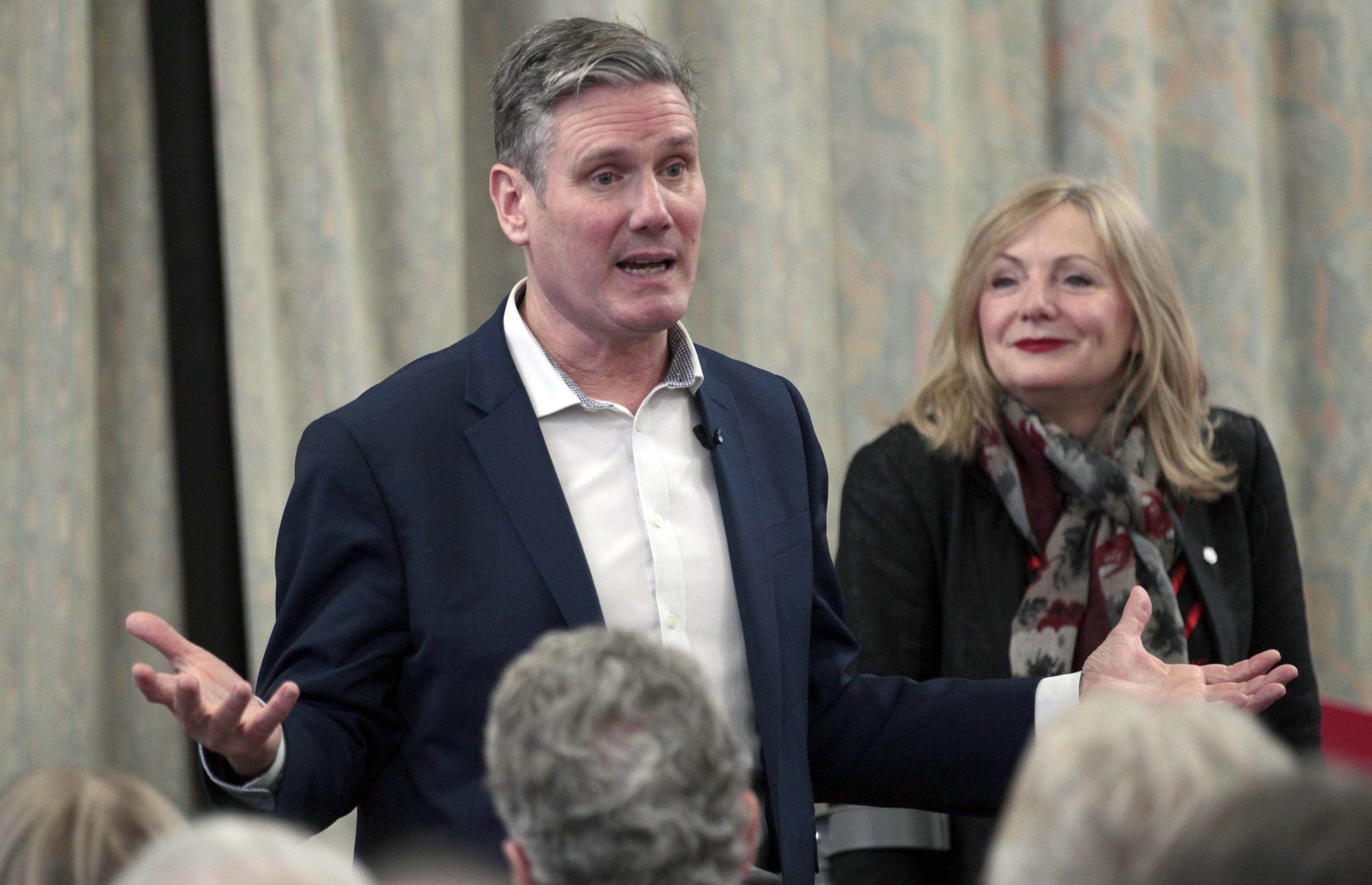 Labour leadership candidate visits Batley