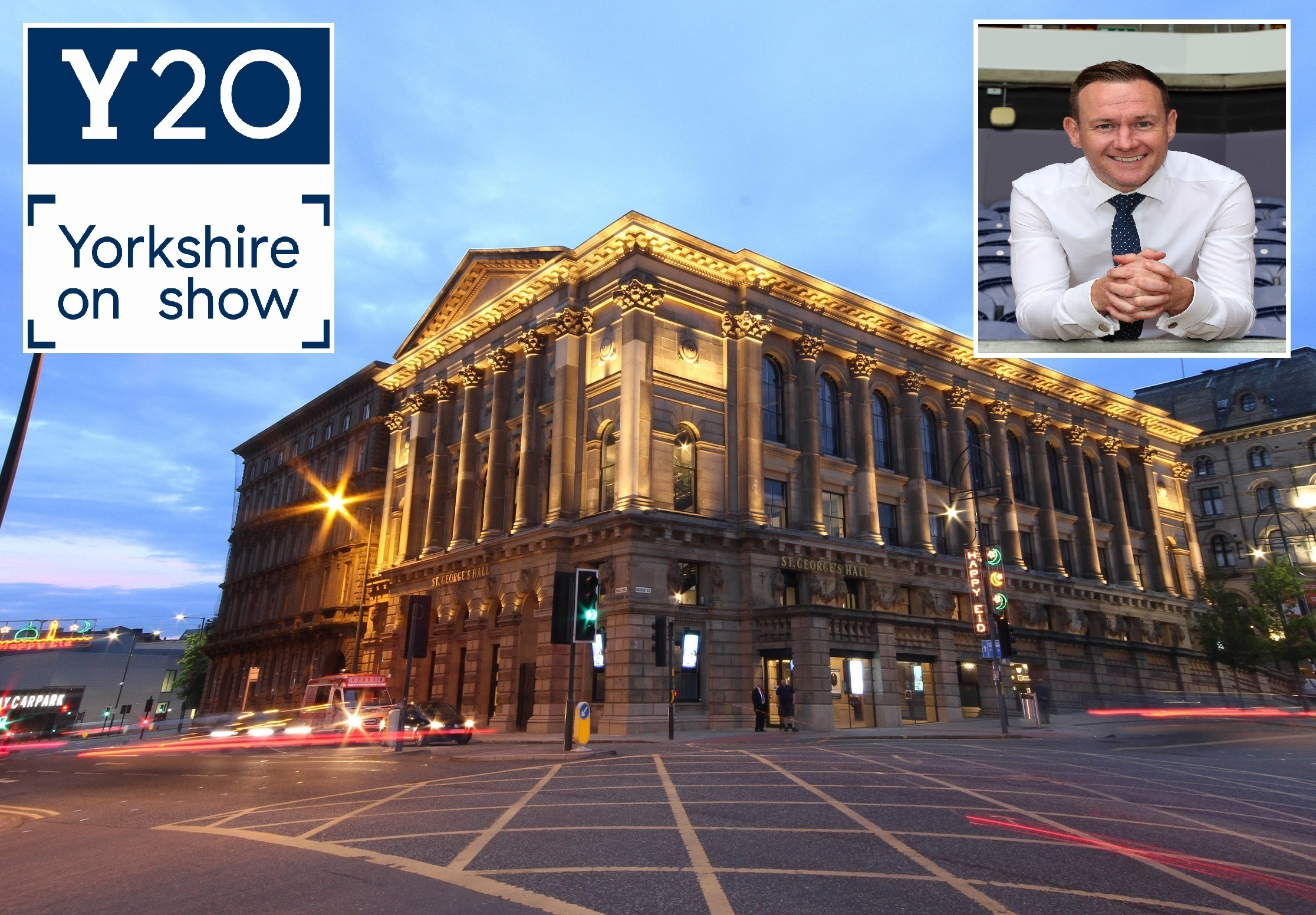 Welcome to Yorkshire hold annual event at St George's Hall