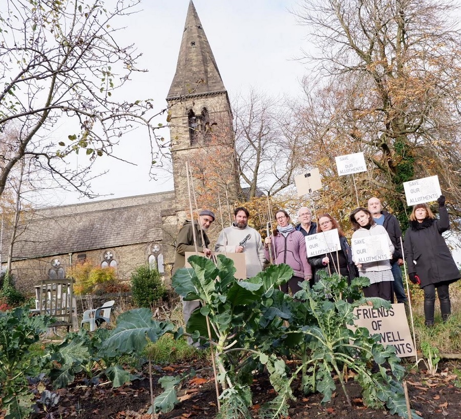 """Recently sold allotments are listed as """"asset of community value"""""""