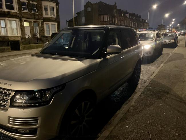 This Range Rover was seized by West Yorkshire Police's Steerside Enforcement Team.