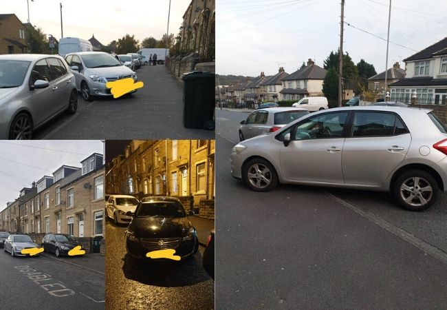 Are these the worst examples of parking in Bradford?
