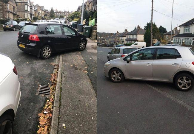 Send your pictures of Bradford's worst parking fails