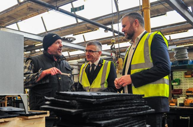 Andrew Stephenson MP visits Barnoldswick's ESSE Engineering